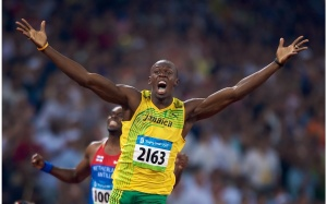 Usain Bolt. Fastest man alive. Could you beat him?